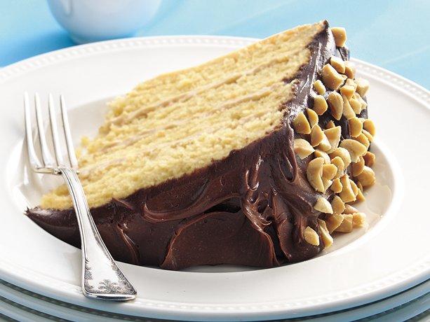 Betty Crocker Peanut Butter Silk Cake