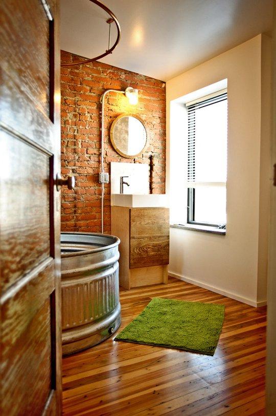 Cabin Fervor: LIVESTOCK TANK BATHTUBS