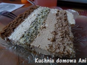 Kuchnia Domowa Ani Urodzinowy Tort Orzechowo Makowo Kawowy