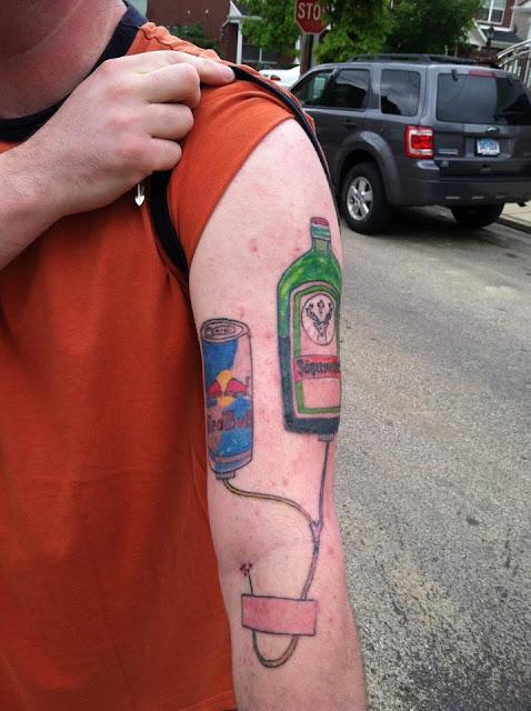 my life as a zombie redneck tattoo