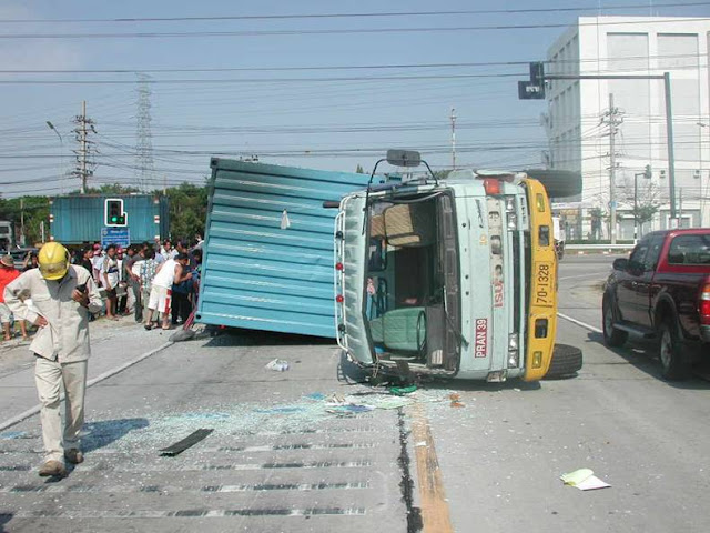 Container Accident Photo