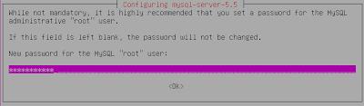 Dialog Configuring MySQL Server