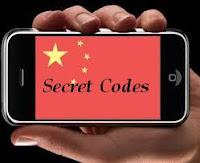 Kumpulan Kode Penting Untuk HP Cina