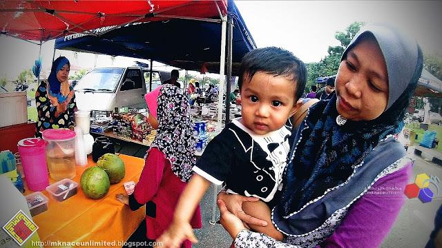 Jenjalan reramai di Pasar Tani Taman Nusantara