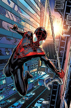 Miles Morales, el Spiderman definitivo del Universo Ultimate.