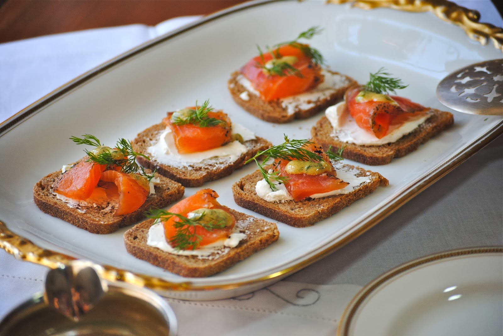 Bakeaway with Me: FFWD ~ Dilled Gravlax with Mustard Sauce on Saturday