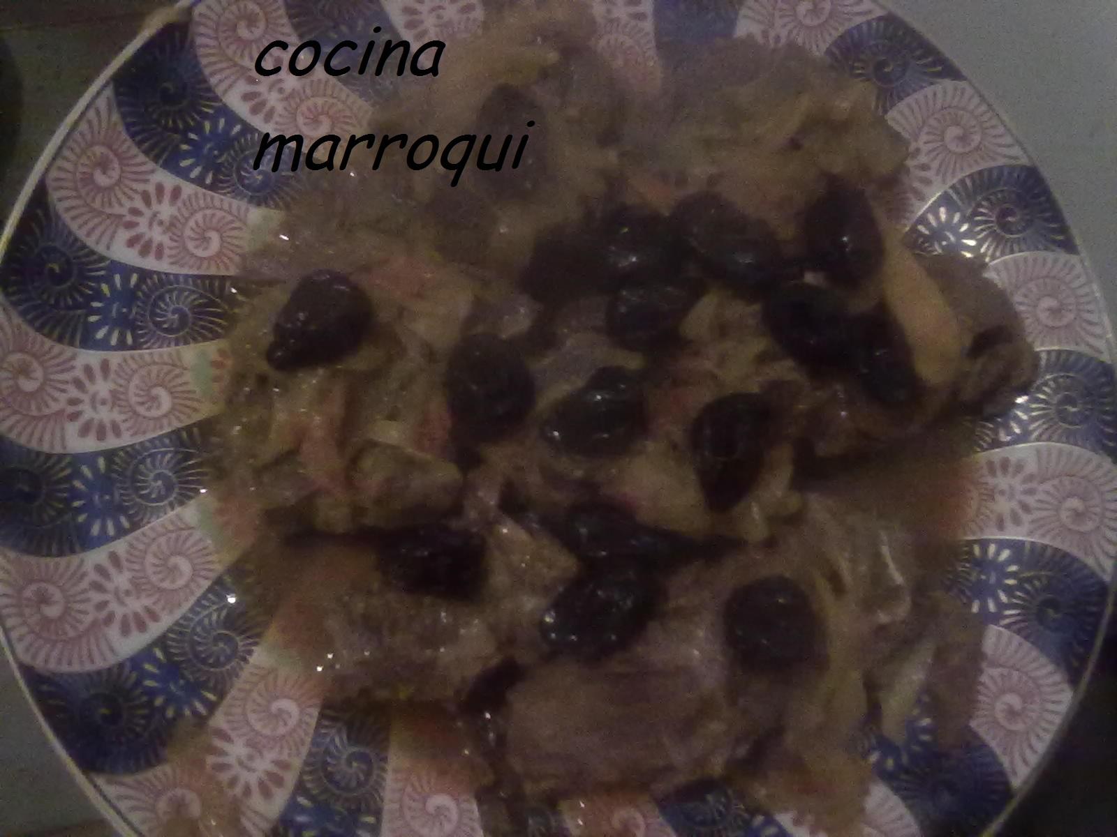 Tajin de carne con ciruelas pasas cocina marroqui tazia - Carne con ciruelas pasas ...
