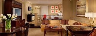 Image d'une grande suite au The Venetian Hotel Las Vegas