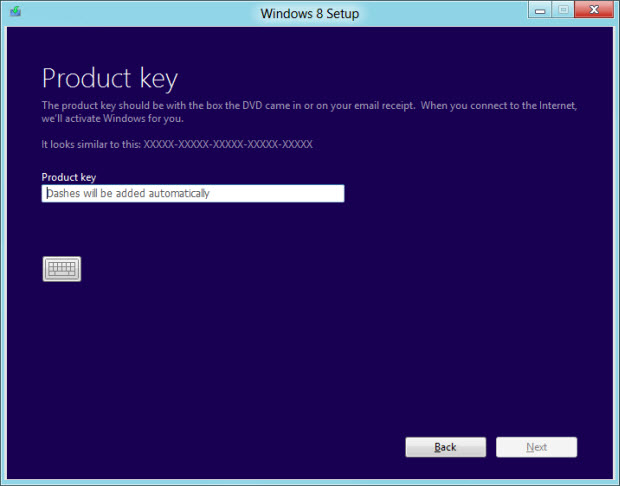 how to retrieve windows 8 product key from installations