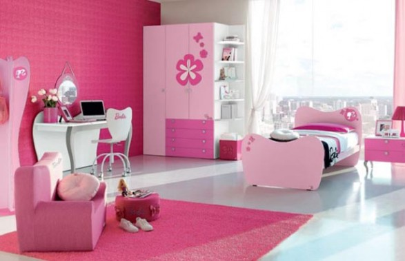Dormitorio barbie un lugar de ensue o para las ni as - Dormitorio de ensueno ...