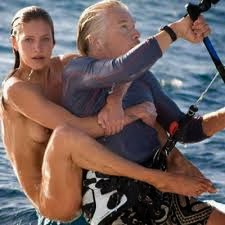 richard branson and naked lady
