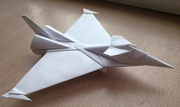 Art Classes Kids: Origami Paper Jet