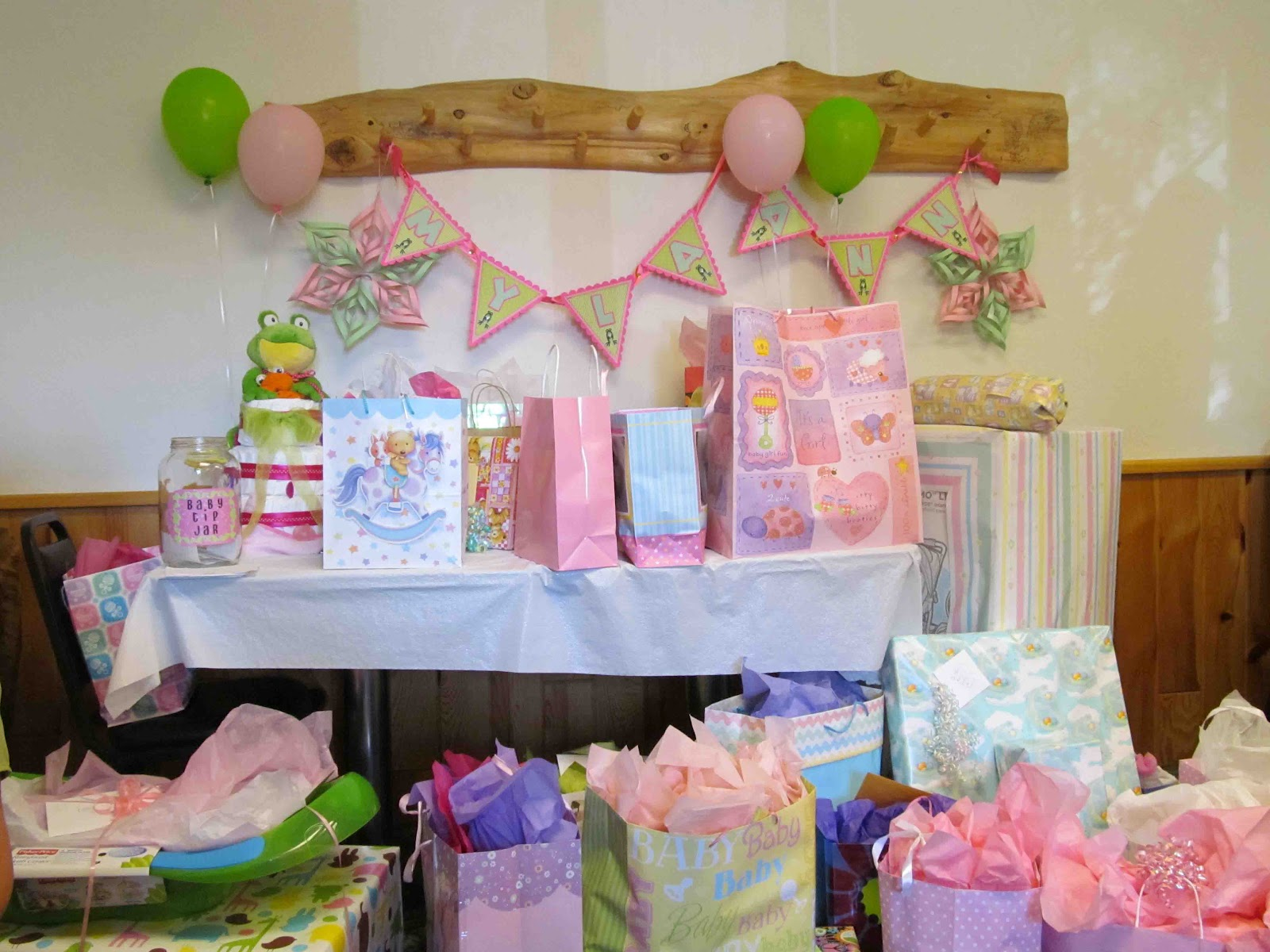 Tinker Planet Baby Shower Part 1