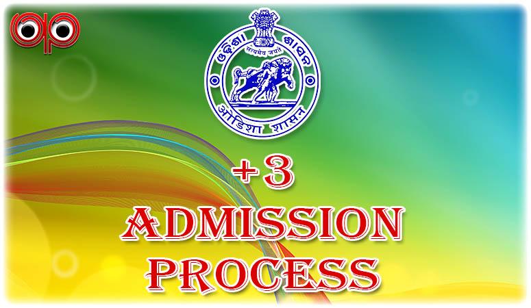DHE Odisha, Plus Three Admission For Session 2015-16 Key Dates & Info