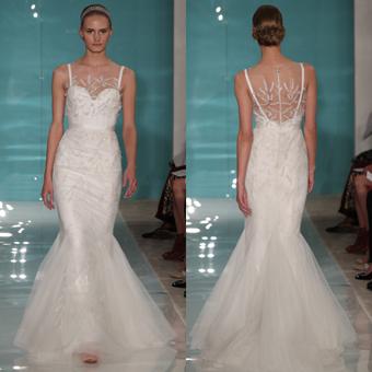 Strong Back Details bridal dress