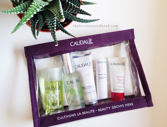 caudalie favorites kit, caudalie beauty elixir, caudalie hand cream, caudalie sorbet cream