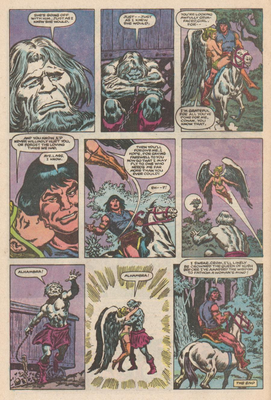 Conan the Barbarian (1970) Issue #168 #180 - English 23