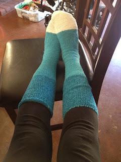 Fuzzy Socks from Target