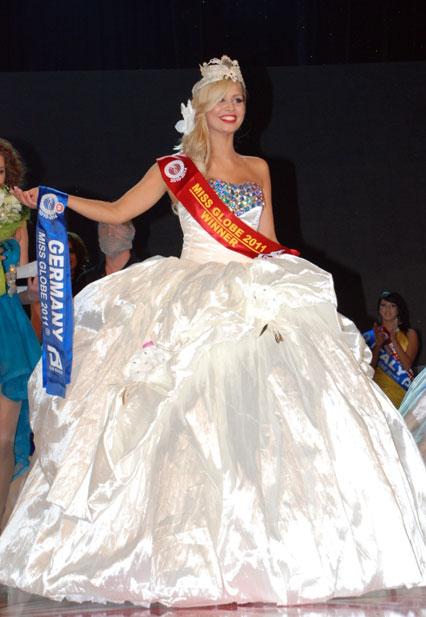 Miss Globe Albania 2011 - Vince la Germania