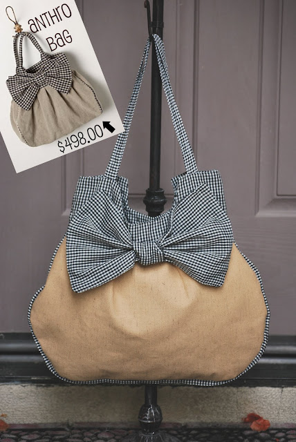 big bow bag diy