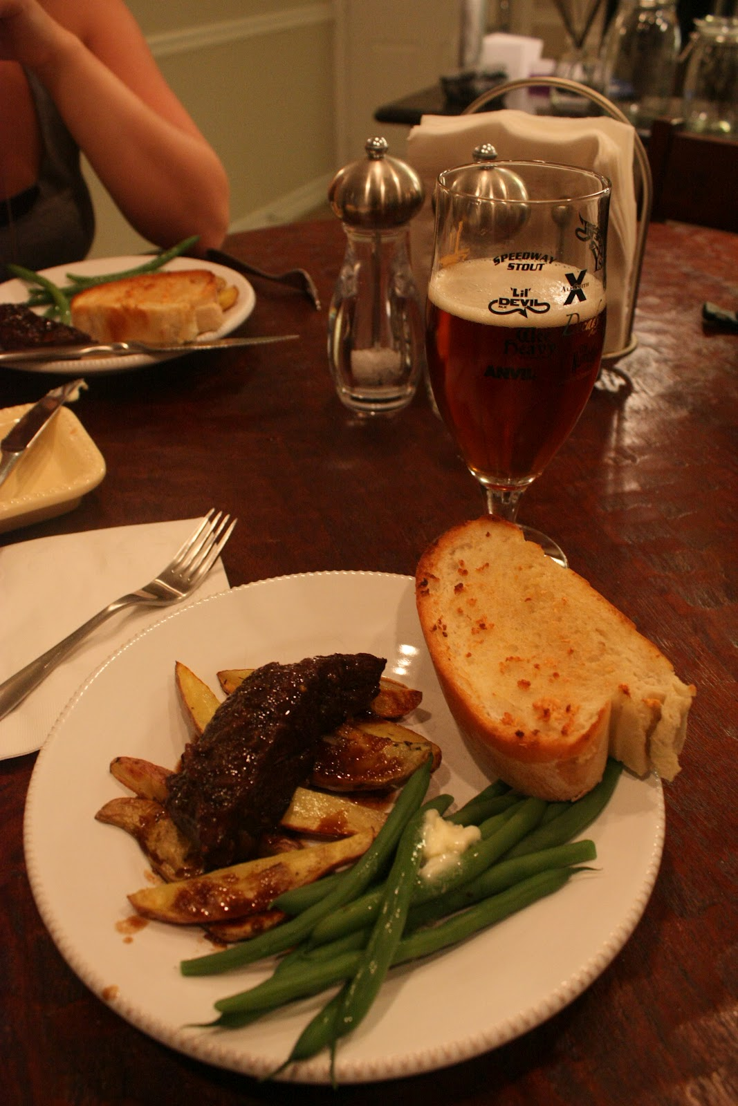 ... and Adventures: Cooking with Beer: Pomegranate Beer Braised Short Ribs