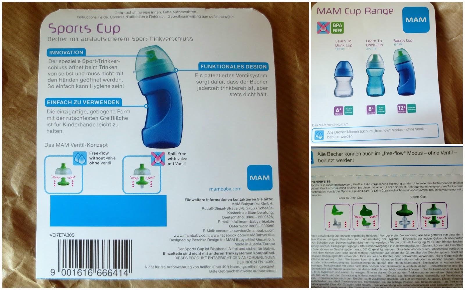 mam sports cup ventil