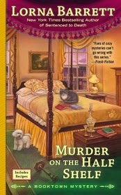 Now Available in paperback:  Murder On The Half Shelf