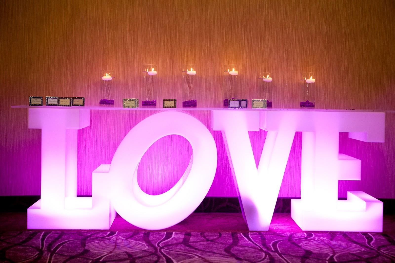 Id es de d coration illuminez votre f te de mariage tout pour mon mariage - Deco lounge epure ...
