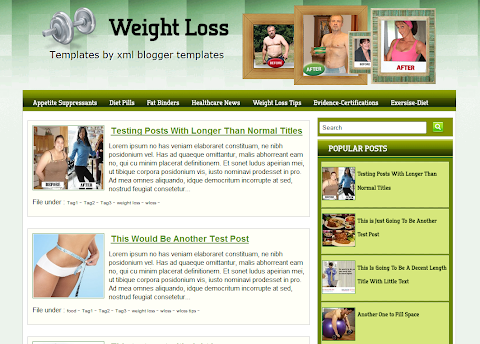 Wloss Blogger Theme