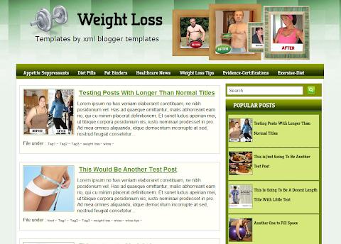Wloss Blogger Theme
