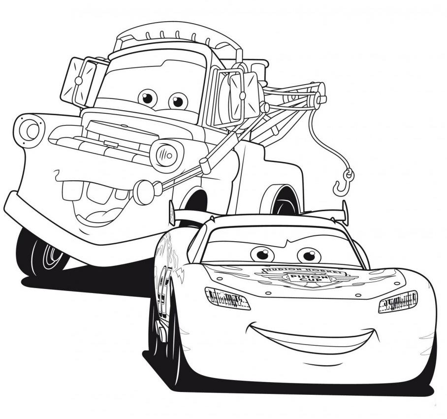 Juegos Sara: Dibujos para colorear de Cars