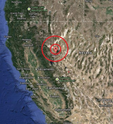 spanish springs, nevada usa earthquake 2013 august 27