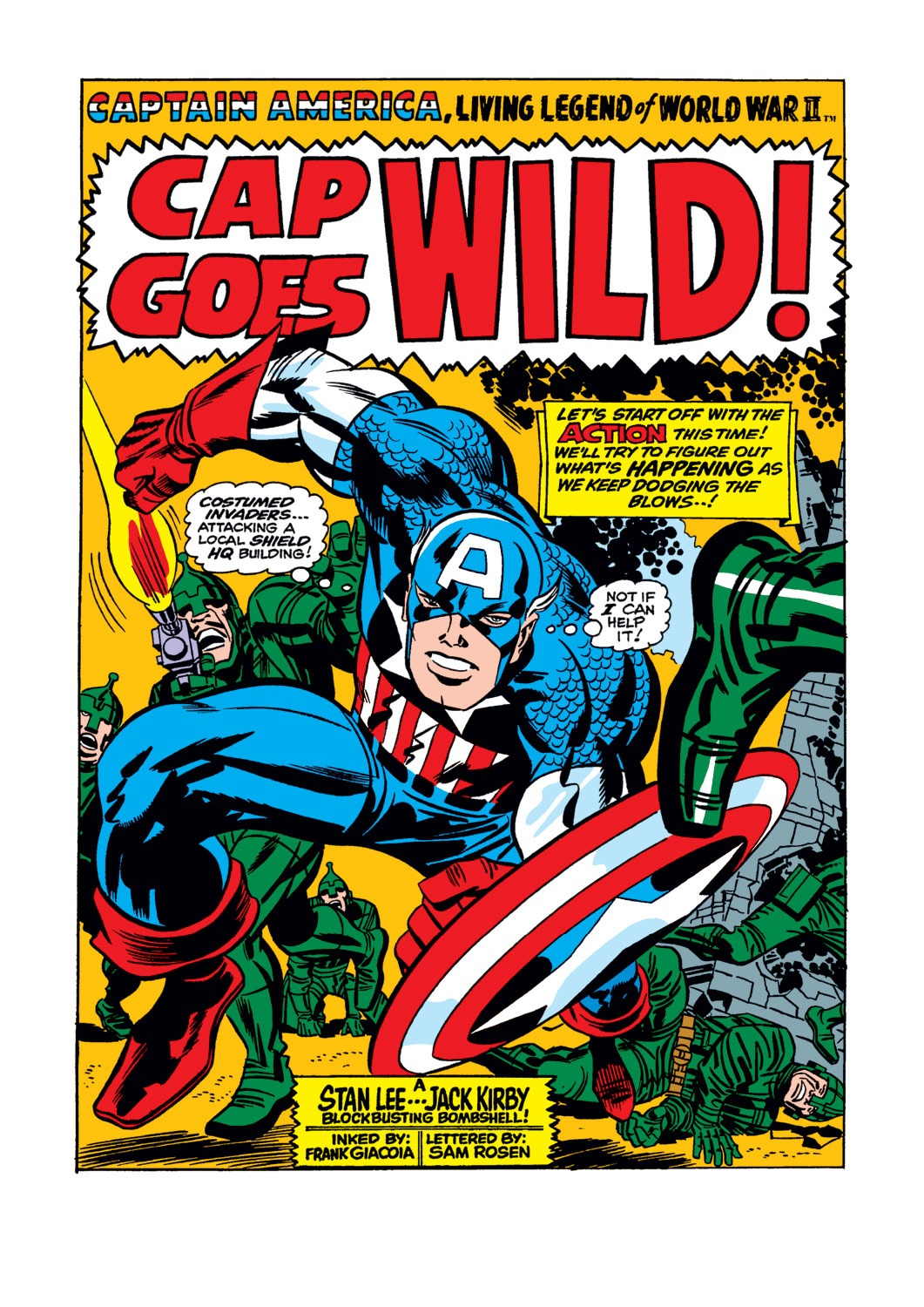 Captain America (1968) Issue #106 #20 - English 2
