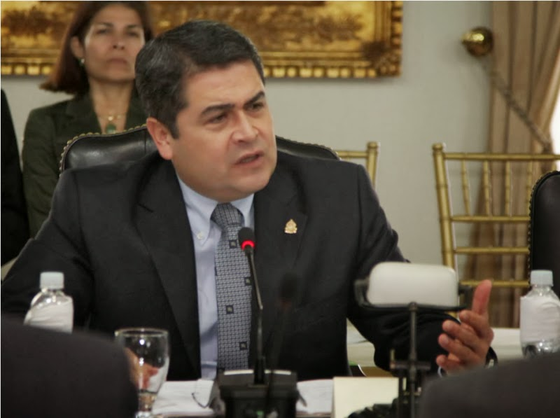 juan orlando hernandez presidente honduras