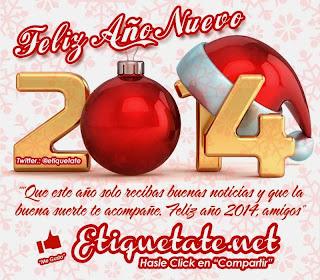 Frases De Año Nuevo: Feliz Año Nuevo 2014