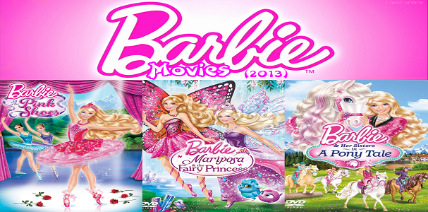 List of All Barbie Movies Online
