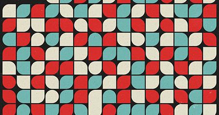 Los diseños geométricos de Marius Roosendaal