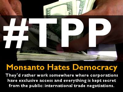 TPP, Monsanto,