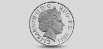 Queen Elizabeth coin portrait 4