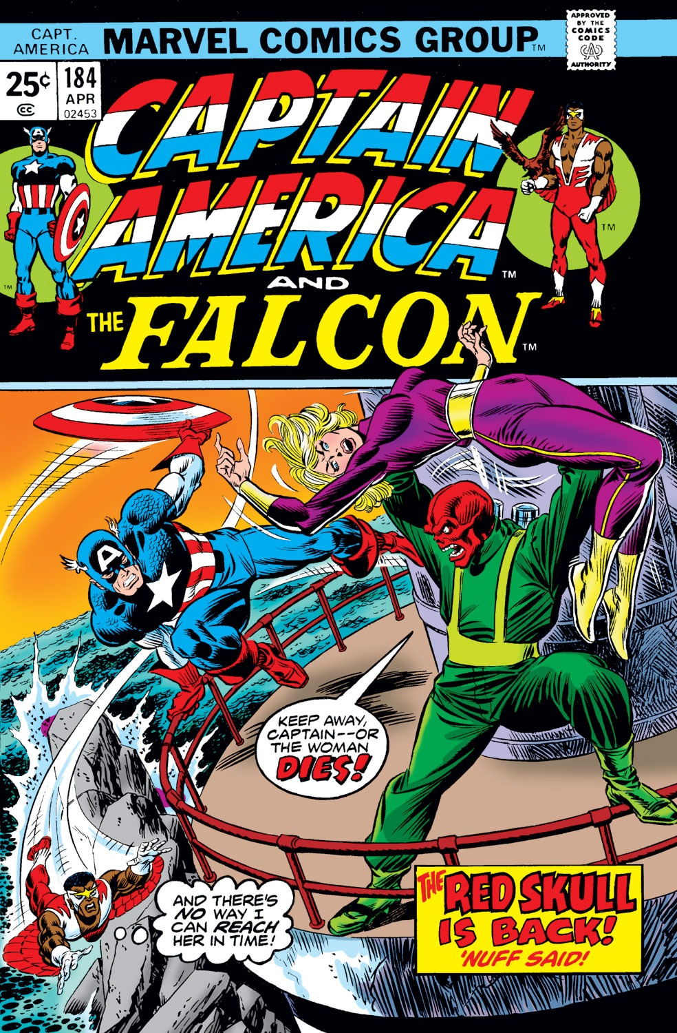 Captain America (1968) Issue #184 #98 - English 1