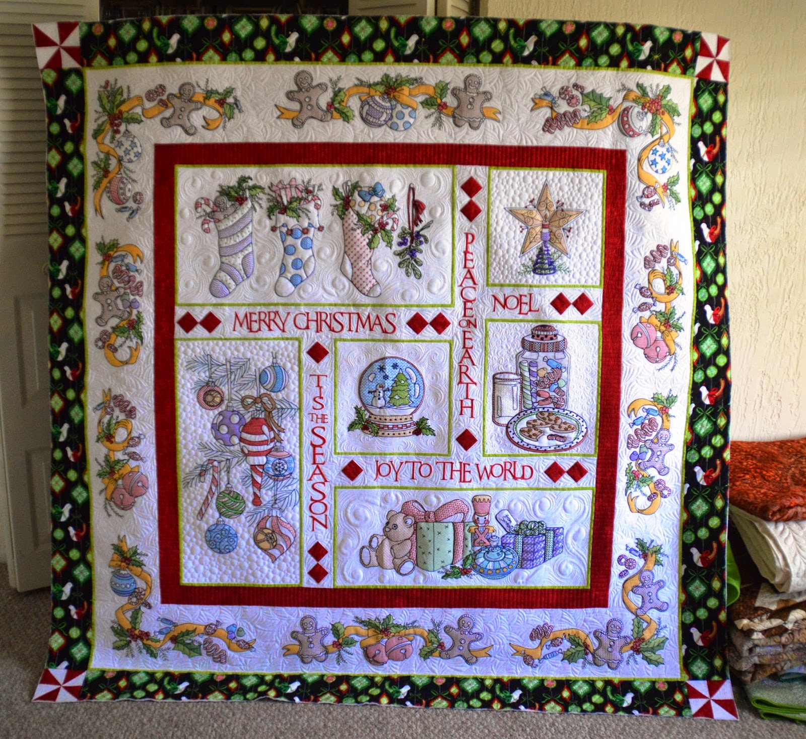 Creative Longarm Quilting by Karen Marchetti: Mel's Tis the Season ... : karen quilt - Adamdwight.com