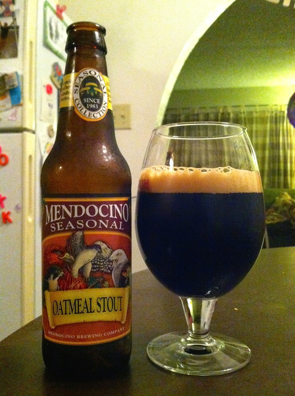 Mendocino Brewing Oatmeal Stout 1