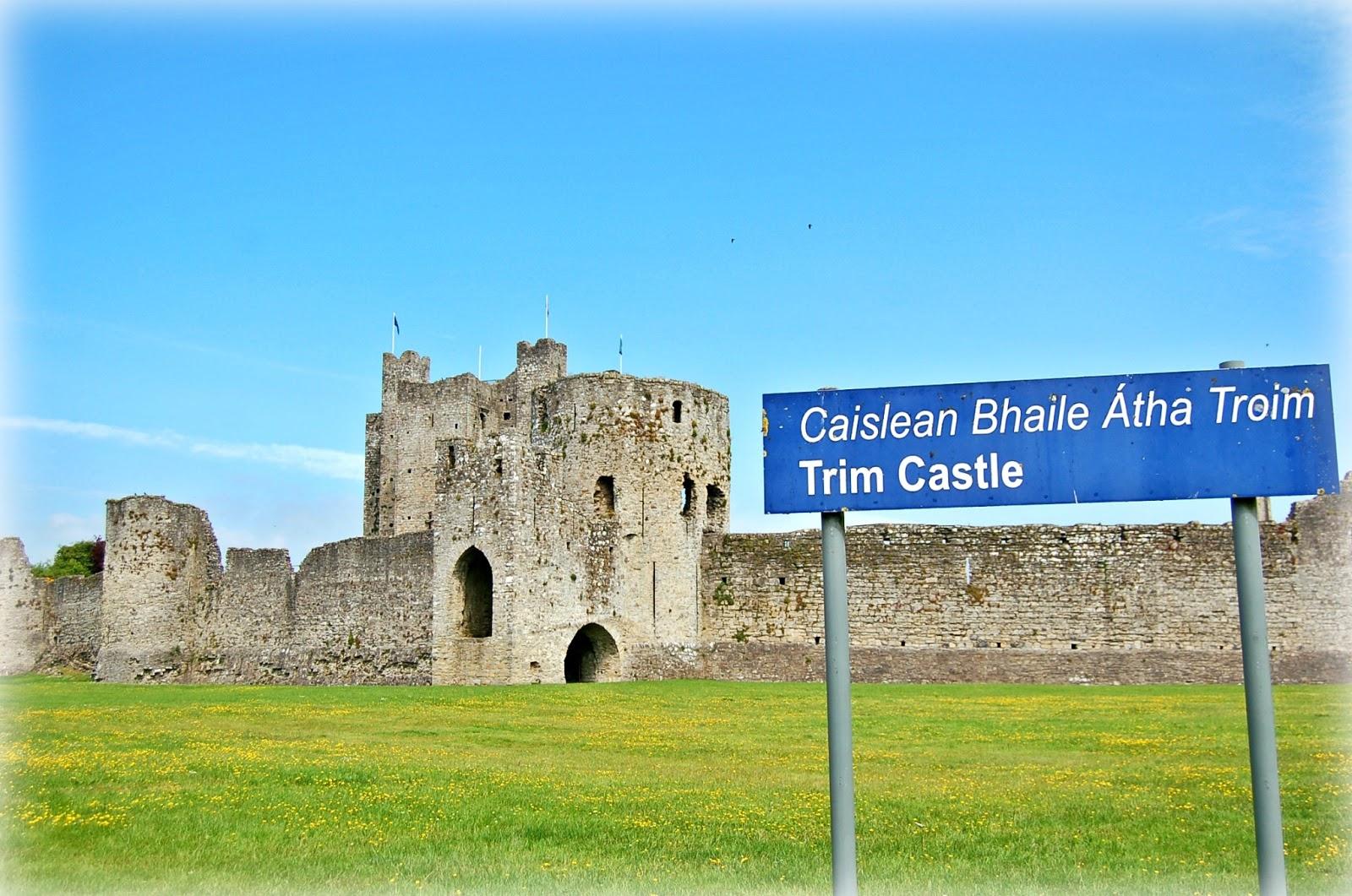 castelo de trim na irlanda