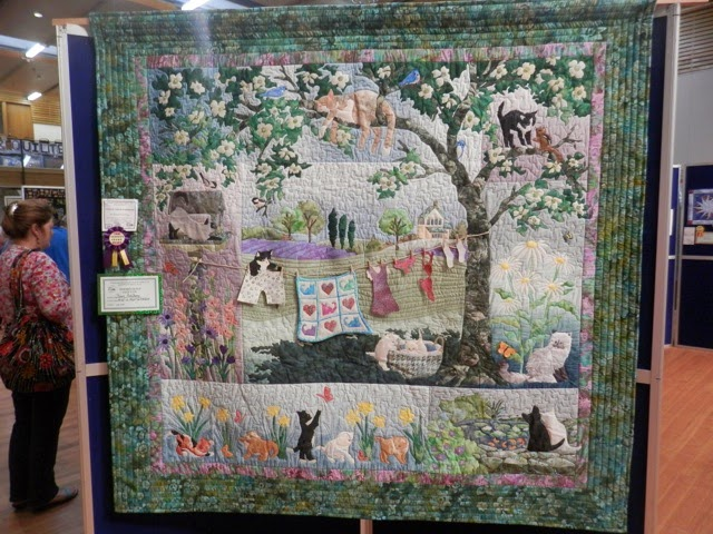 Charlotte Scott Textile Artist Pictures Of The Whangarei Quilt