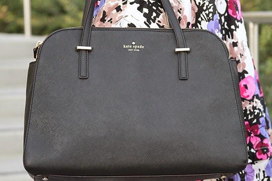 Kate Spade Black Cedar Bag