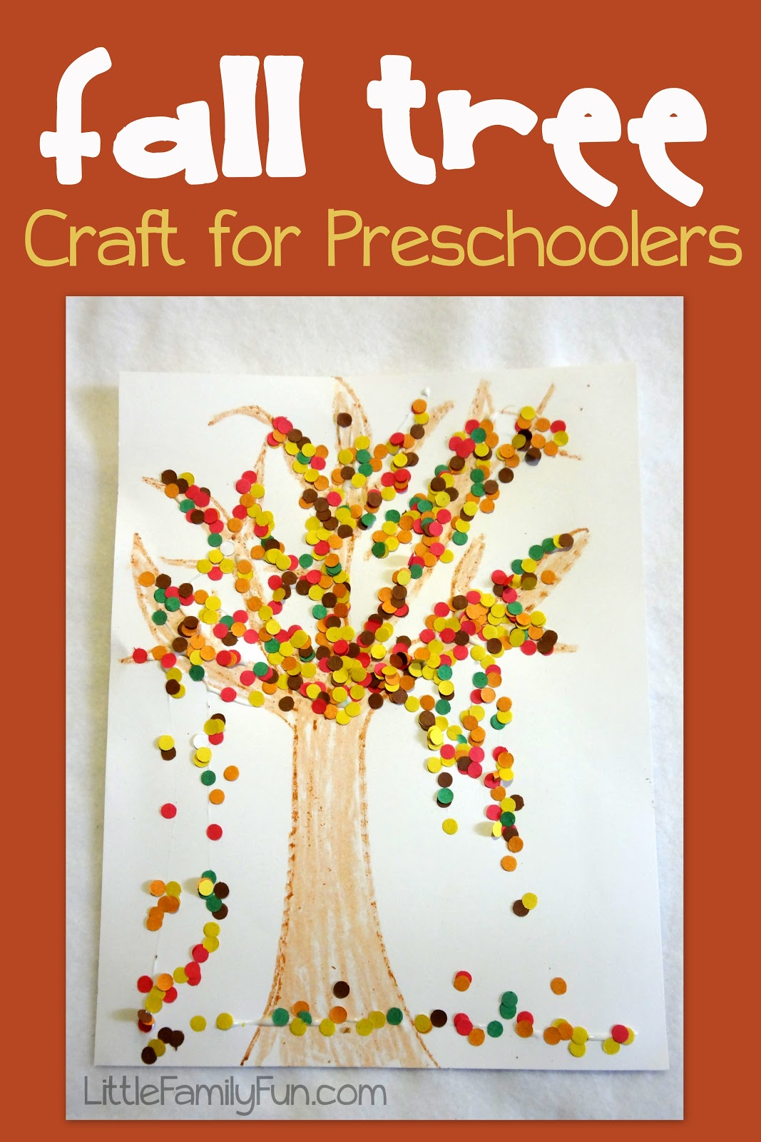 fun fall crafts for preschoolers fall tree craft 865