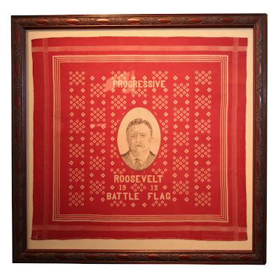 Theodore Roosevelt 1912 Campaign Bandana