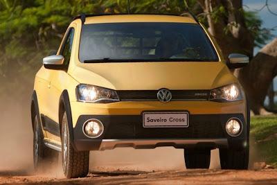 Nova Volkswagen Saveiro 2014 Cross