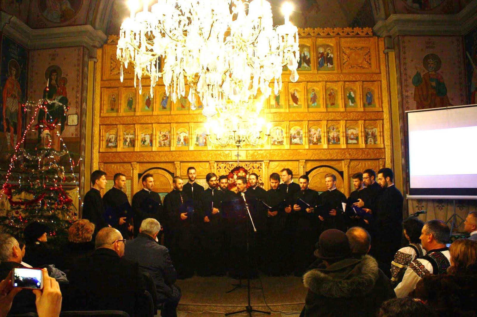 Grupul de muzică bizantină ANASTASIOS la Subcetate, 5 dec. 2015. Foto: Ana Alexandra Dobrean
