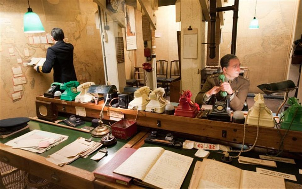 The insiculous discovery chuchill war rooms - Churchill war cabinet rooms ...